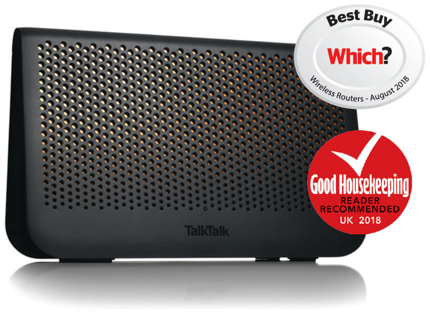 Wi-Fi Hub with Which? Best Buy and Good Housekeeping awards